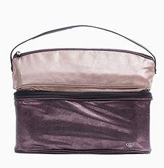 84 Pursen Stylist Bag Travel Toiletry Makeup Case Bronze Er Design