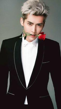 Każdy chyba wie o co chodzi :) # Losowo # amreading # books # wattpad Kris Wu, Chanyeol, Rapper, Wu Yi Fan, Exo Korean, Kpop Exo, Handsome Boys, Guangzhou, Korean Actors
