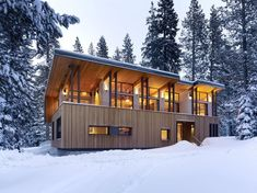 Sugar Bowl Residence by John Maniscalco Architecture