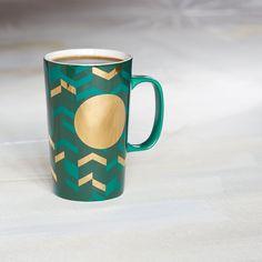 Mug - Green Chevron, 16 fl oz   Starbucks® Store