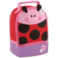 Personalized Stephen Joseph Ladybug  Lunch by PersonalTouchEMB, $18.95