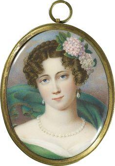 Портретные миниатюры первой трети XIX века. – 9 фотографий