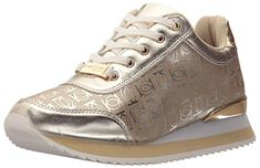 Bebe Womens Caryne Women's Walking Shoes Shoe Gold 9 M US * Learn more by visiting the image link.