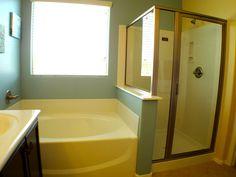 Separate Tub & Shower (standard)