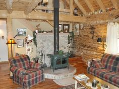 Charming Adirondack Log Cabin with Great... - HomeAway Allen Falls ...