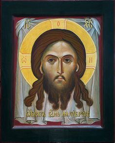 СПАС Образ Господень на убрусе Иконописная мастерская во имя Нерукотворного…