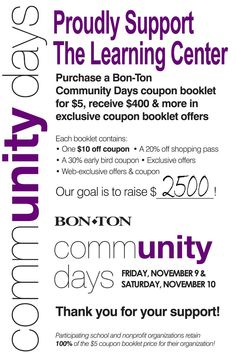 Bon Ton Community Days supports The Learning Center.
