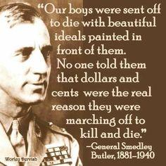 Military Industrial Complex. True Then...True Now. #NoWar.