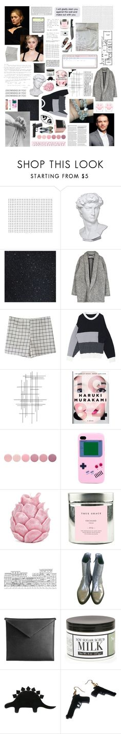 """""""Let me help you. Let me help you. Because if you do, I promise you will get away with this."""" by homeshake ❤ liked on Polyvore featuring Concord, Eichholtz, Crate and Barrel, Nook, Deborah Lippmann, Zara Home, True Grace, Nikon, Brownstone and Mark/Giusti"""