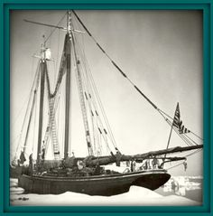 The Effie M. Morrissey, captained by Bob Bartlett on which Louise Arner Boyd sailed on her 1941 Greenland Expedition.