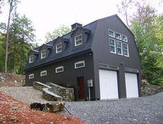 turn garage doors into floor to ceiling windows. garage detached.