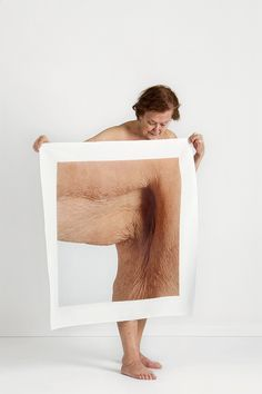 THE HUMAN BODY IS MAGNIFIED AND FRAGMENTED BY MELTEM ISIK