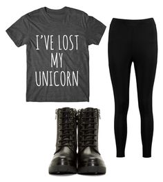 """""""School#3"""" by princessdarkness1105 on Polyvore featuring Boohoo and Moncler"""