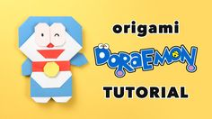 These are the instructions to make a cute origami Doraemon, the robotic cat from the future!  ⬇ more info ⬇ Get a FREE printable origami paper pack: http://...