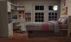 bedroom episode night 1136 teen sisters sister 1920 int bedrooms adult anime backgrounds background interactive living scenery wallpapers pink designs