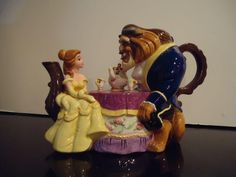 Beauty and the Beast Sculpted Teapot from the Disney Store