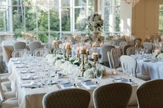 Elegant Wedding Reception Ashton Gardens Atlanta Wedding Flowers by Design House Weddings Atlanta, GA