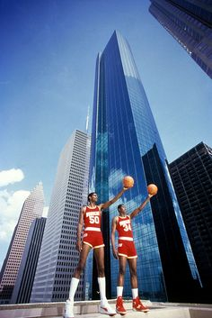 The Twin Towers.    For the latest Rockets news & updates, visit www.rockets.com.