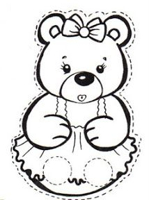 Corduroy printables! Keep your little one's entertained