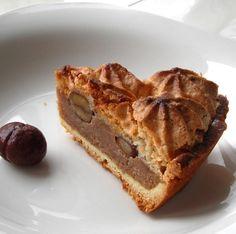 Hazelnut Chestnut Tart