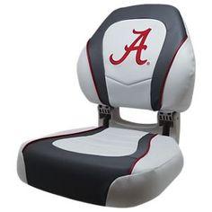 Wise Torsa College Logo Sport Boat Seat - University of Alabama