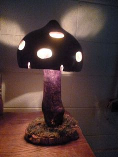 Mushroom Gourd Lamp