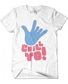Evoke Apparel - Chill Yo Graphic Tee, $25.00 (http://www.evokeapparelcompany.com/chill-yo-graphic-tee/)  Peace isn't that hard tee, this chill yo graphic tee reminds us to just chill out and love your fellow human.