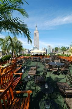 Rooftop Bars NYC-Best Roof, Outside Restaurant Seating