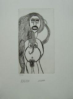 Johann Hauser Camille Claudel, Jean Dubuffet, Walk The Line, Unusual Words, Naive Art, Outsider Art, French Artists, Mafia, Folk Art
