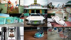 The Beauty of Abandoned Amusement Parks