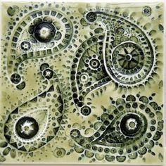 Paisley Series by Pratt & Larson Tile