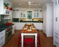 Southern Kitchens, Inc.: A Few Good Kitchens--Inset Cabinets