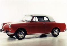 1961 VW 1500 Notchback Cabriolet Type 3