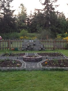 This is my amazing cinder block garden. Used the square foot garden technique and companion planting in hopes of a great harvest. Very beautiful and functional too.