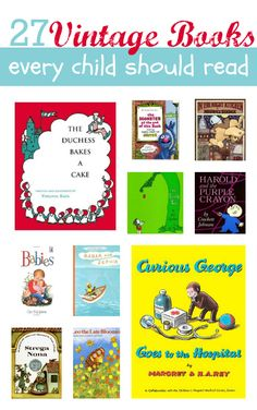 Yes the books we read as kids are vintage , but they are also still rad!