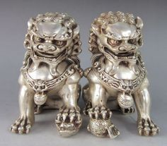 fu dogs (Chinese)More Pins Like This At FOSTERGINGER @ Pinterest