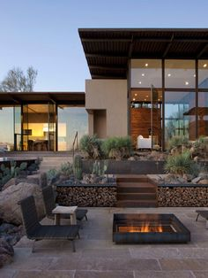 Exterior Ideas Contemporary Prefab Outdoor Firepit Fireplace In Backyard Amazing Prefab Outdoor Fireplace Ideas