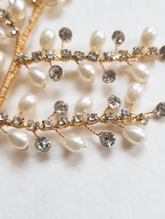 Bohemian Bride, Vintage Bohemian, Bohemian Jewelry, Wire Jewelry, Short Bridal Hair, Bridal Hair Vine, Chic Wedding, Wedding Jewelry, Diy Lace Ribbon Flowers