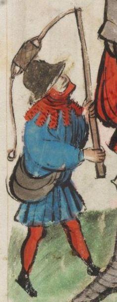 Speculum Humanae Salvationis 1427 Cod. membr. 8  Folio 16r