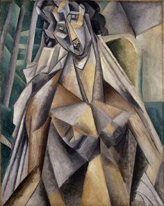 Mujer sentada - Pablo Picasso