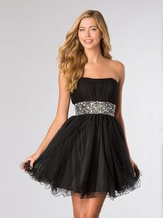 2014 Style A-line Strapless Rhinestone Homecoming Dresses/Cocktail Dresses #GC488 http://www.beckydress.com/2014-style-a-line-strapless-rhinestone-homecoming-dresses-cocktail-dresses-gc488.html