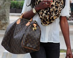 to me...an LV purse can always complete and compliment an outfit. an LV purse IS the perfect accessory.