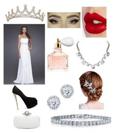 """""""my prom outfit with shawn mendes."""" by nakaylathor ❤ liked on Polyvore featuring Giuseppe Zanotti, Charlotte Tilbury, Guerlain, Kobelli, Humble Chic, BERRICLE, 16 Braunton and Oscar de la Renta"""
