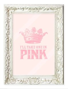Pretty in pink! Who loves pink? in Pink