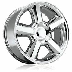 Oem Wheels, Chrome Wheels, Custom Wheels, Silverado Wheels, 2018 Chevy Silverado, Chevrolet Suburban, Chevrolet Tahoe, Aftermarket Rims, Replica Wheels