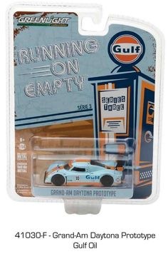 1:64 Greenlight Running on Empty Series 3 -  Grand-Am Daytona Prototype Gulf Oil #GreenLight #GrandAm