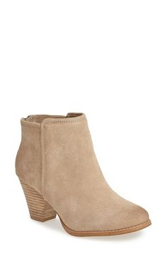 Splendid 'Roland' Suede Ankle Bootie (Women) at Nordstrom.com. A versatile stacked-heel bootie shaped from smooth suede features a subtly distressed finish for a dash of authentic appeal.