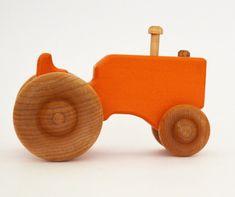 Personalizada de Tractor de juguete de madera  por hcwoodcraft -23 - 03 -2013