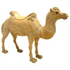 Wooden Camel Carousel Animal 1