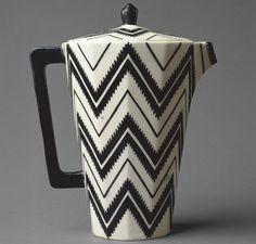 Pavel Janak, Zig Zag Coffee Pot, 1911, Metropolitan Museum of Art